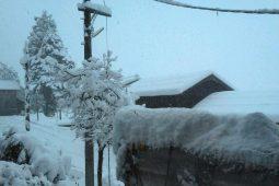 Massive snowfall