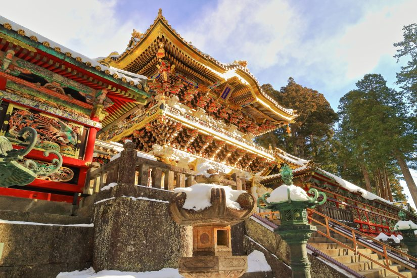 Nikko's historical significance with its shrines and temples having UNESCO world heritage status