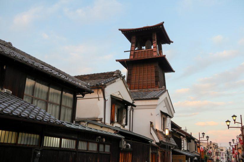 A replica of an Edo-era town, the city of Kawagoe in Saitama