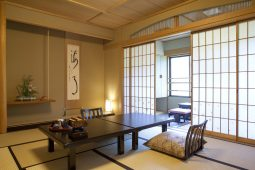 Traditional Japanese-style tatami room image