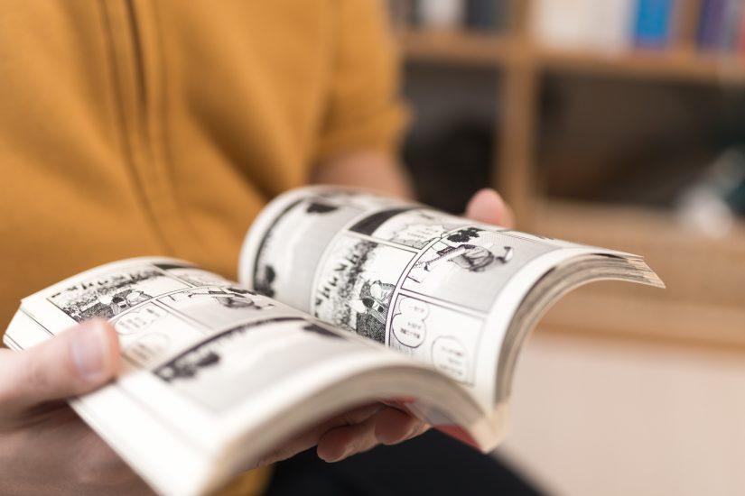 Studying Japanese Through Manga