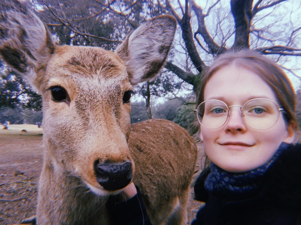 Photo of Anastasia in Nara
