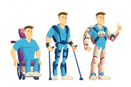 Image for Exoskeletons for disabled people
