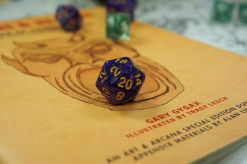 Dungeons and dragons tabletop image