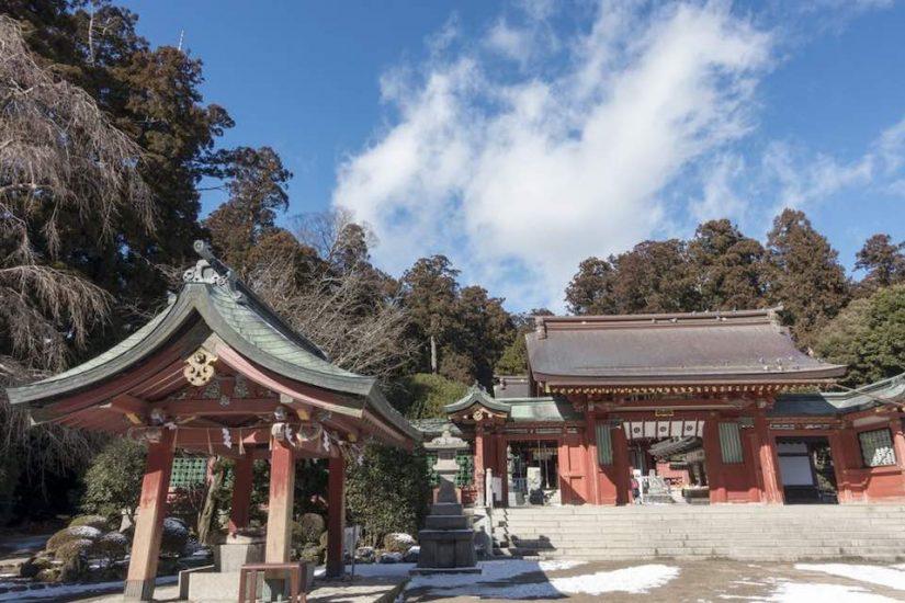 Photo of Japanese shrine
