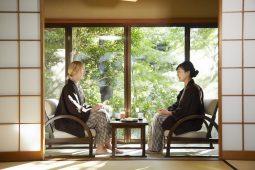 Japanese traditional ryokan photo