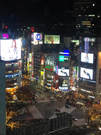 Photo from Shibuya Scramble Square