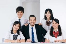 english teacher in Japan photo