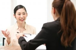 Japanese job interview image