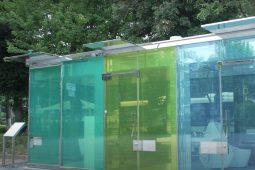 shibuya transparent restroom