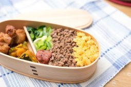 Japanese homemade packed lunch
