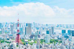 Tokyo scene in anime